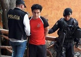 David Modesto López García, presunto delincuente capturado en Huehuetenango. (Foto Prensa Libre: PNC).