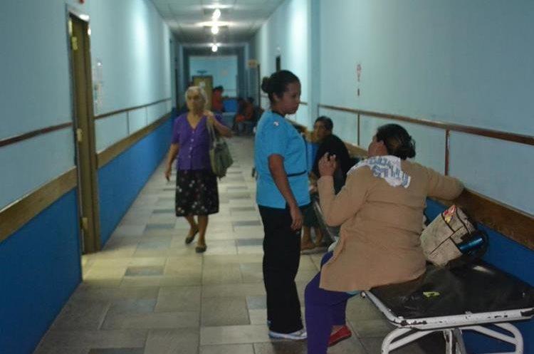 El hospital de Guastatoya experimenta carencias. (Foto Prensa Libre: Hugo Oliva)