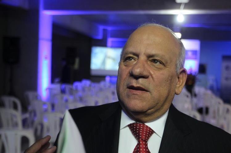 Luis Rolando Coronado, presidente de la Asociación de Navieros de Guatemala (Asonav).