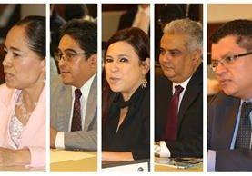 Los diputados entran hoy a conocer la tabla de gradación para evaluar a los 27 aspirantes. (Foto Prensa Libre)