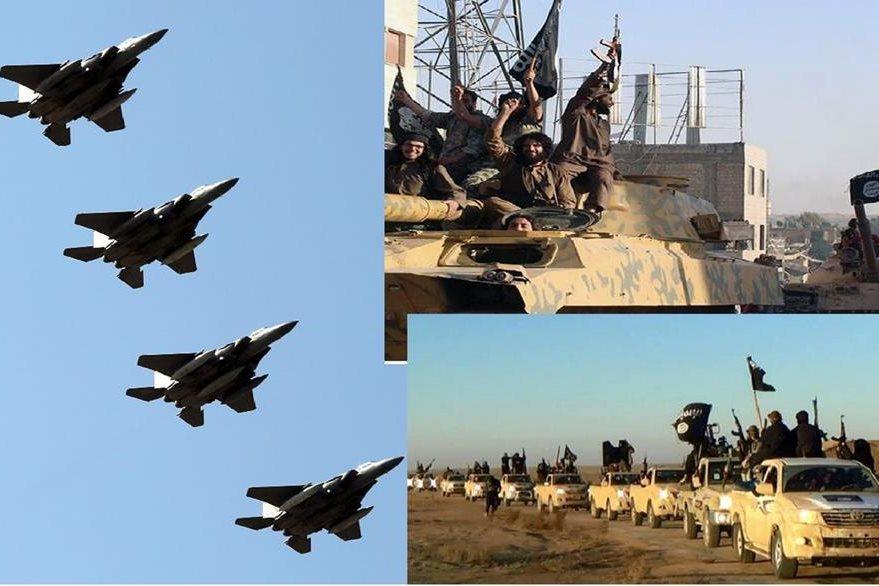 El operativo militar internacional busca combatir al grupo del Estado Islámico.