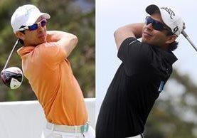 Los golfistas nacionales Pablo Acuña y José Toledo continúan su participación en el PGA Tour. (Foto Prensa Libre: Hemeroteca PL)