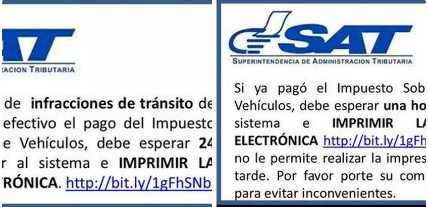 Fotografía compartida en la cuenta de twitter de la vocera del departamento de tránsito de la Policía Nacional Civil, Dalia Santos.