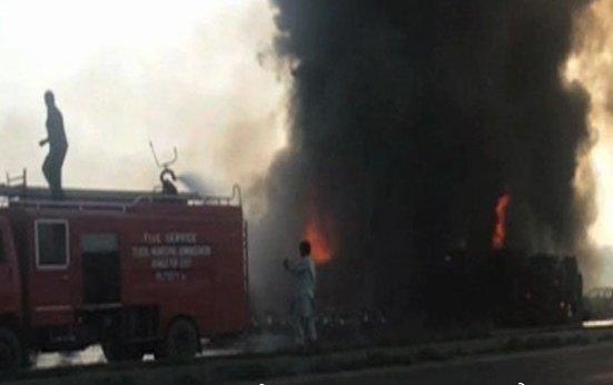 Un atentado con bomba en Pakistán deja al menos nueve muertos