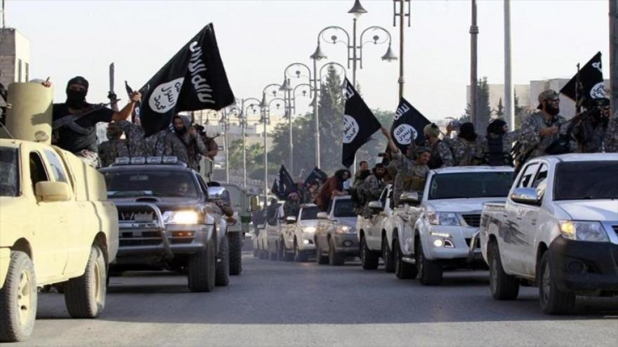 El Estado Islámico domina importanes territorios de Siria, ahora pretende hacer lo mismo con Libia. (Foto Prensa Libre: Hemeroteca PL).