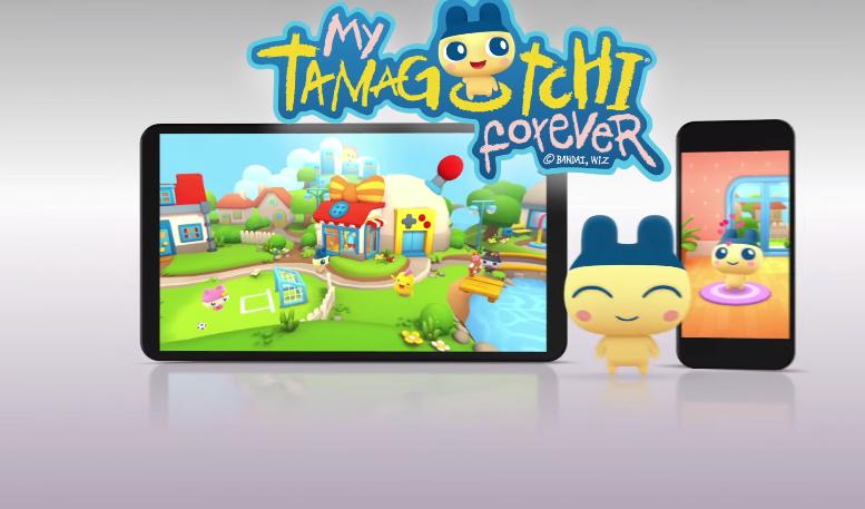 My Tamagotchi Forever estará disponible para iOS y Android (Foto Prensa Libre: YouTube).
