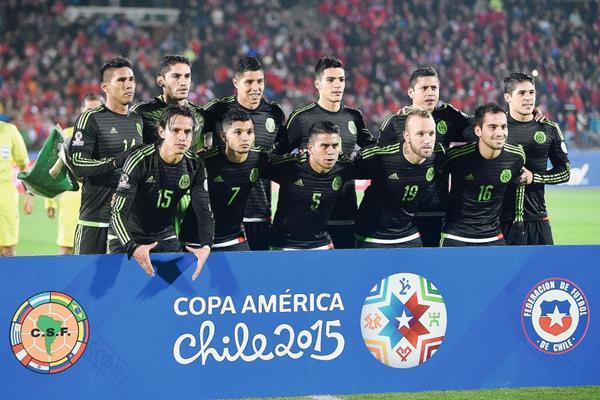"""""""El Tri"""" llegó a Chile con un equipo """"B"""" pero busca cumplir con una aceptable actuación. (Foto Prensa Libre: AFP)"""