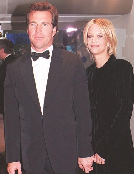 Quiad estuvo casado 10 años con la actriz Meg Ryan. (Foto Prensa Libre: dailymail.co.uk)