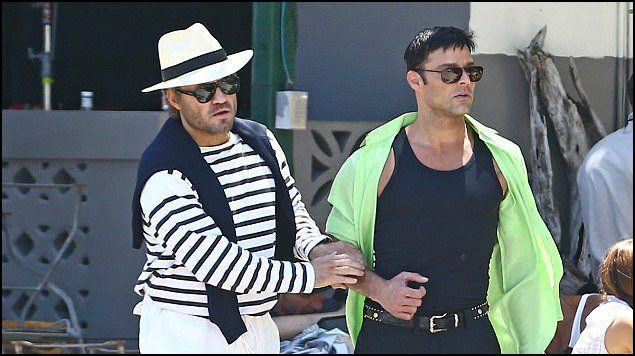 Ricky Martin actúa junto a Édgar Ramírez en la serie American Crime Story, sobre la vida del diseñador Versace. (Foto Prensa Libre: adioformula.com.mx)