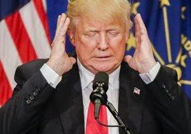 El republicano Donald Trump está de nuevo en el ojo del huracán por haber insultado a las mujeres. (Foto Prensa Libre: EFE).