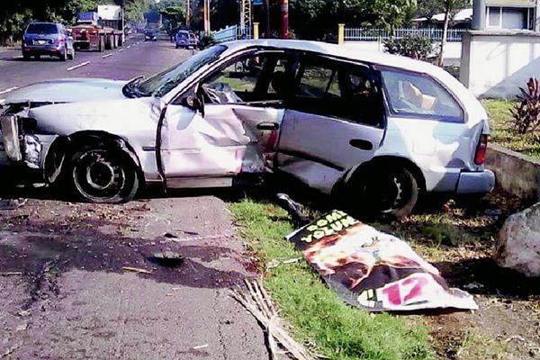 Melgen Humberto De la Cruz Blanco, delegado TSE en La Democracia, Escuintla, murió en un accidente de tránsito, en Siquinalá, en ese mismo departamento. (Foto Prensa Libre: Carlos Paredes)