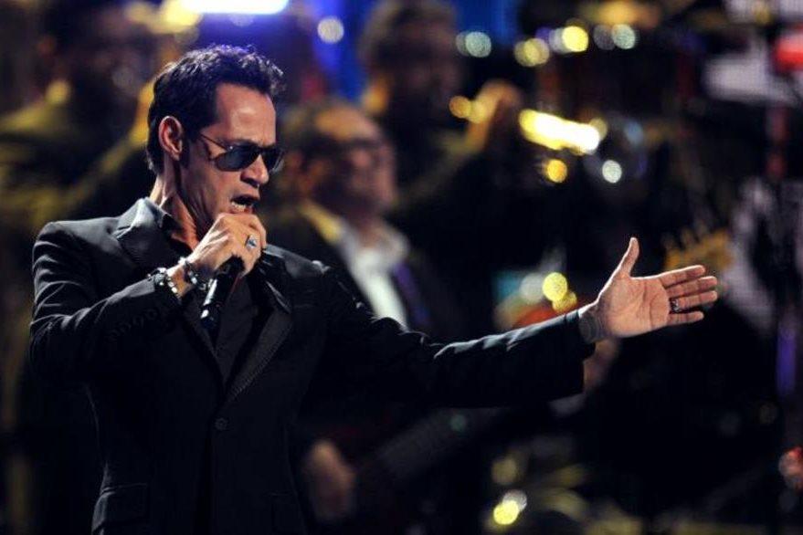 Marc Anthony se presentará en el teatro Plaza Figali en Panamá. (Foto Prensa Libre: AFP)