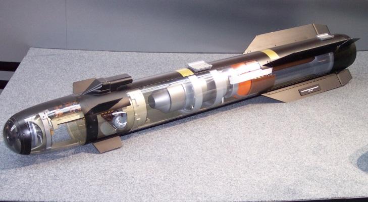 """Los misiles """"Hellfire"""" son disparados desde aviones de combate o helicópteros."""