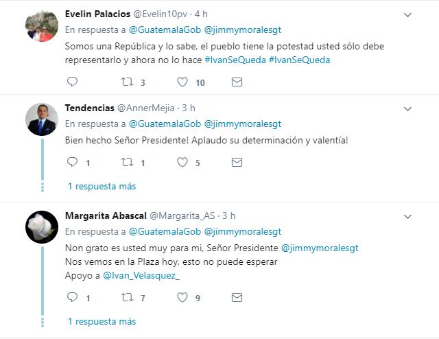 Las redes sociales han explotado con comentarios polarizados, luego del anuncio del Presidente Morales. (Foto Prensa Libre: Twitter).