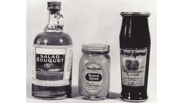 Algunos de los alimentos que se consumían a principios del siglo XX. FDA