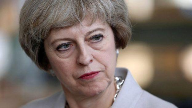 Hay reportes de que a la primera ministra de Reino Unido, Theresa May, le preocupa la participación de China en una planta nuclear británica. PA