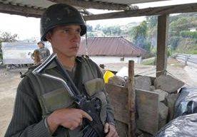 Ejército se prepara para ingresar al lugar
