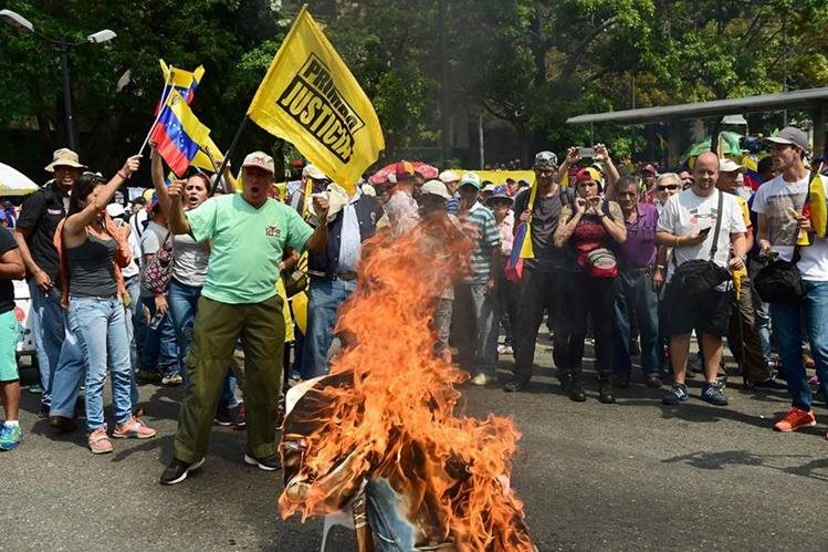 2 muertos en 'la madre de las marchas — Venezuela
