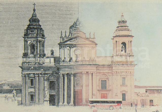 La Catedral Metropolitana es uno de los íconos de la capital de Guatemala. (Foto: Hemeroteca PL)