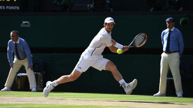 Murray tuvo que hacer frente a los servicios más potentes del torneo. (Getty Images)