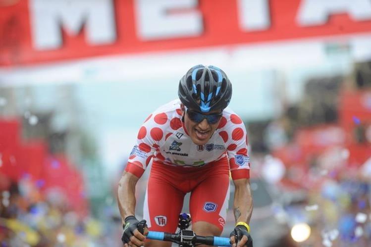 Jefferson Cepeda, de Ecuador, ganó la quinta etapa de la 57 Vuelta a Guatemala. (Foto Prensa Libre: Francisco Sánchez)