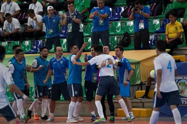 Guatemala festejó su primer triunfo en el Premundial de Costa Rica. (Foto Prensa Libre: Norvin Mendoza)