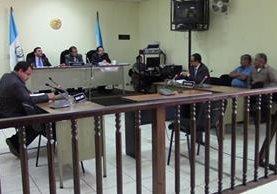 Tribunal de Sentencia de Huehuetenango, donde se dictó la condena. (Foto Prensa Libre: Mike Castillo).