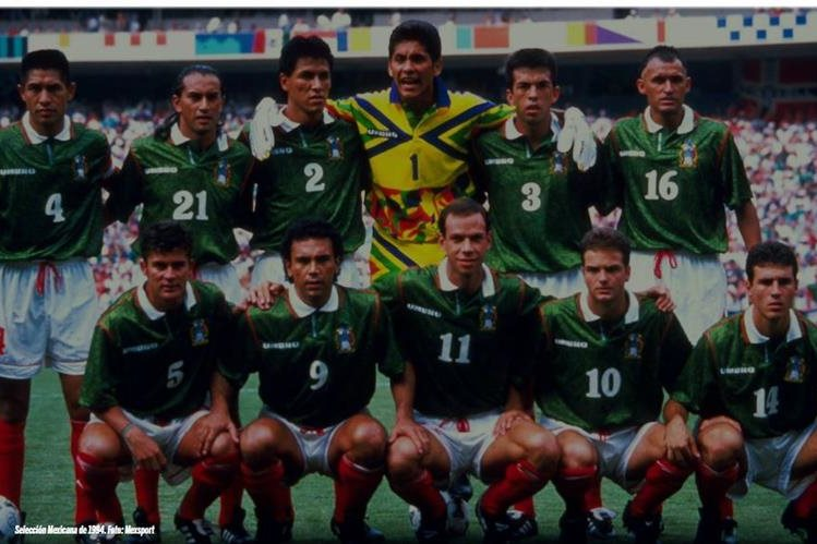 La selección mexicana de 1994 ha sido una de las más contundentes en los mundiales. (Foto Prensa Libre: Mexsport)