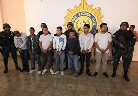 Varios capturados en 184 allanamientos.