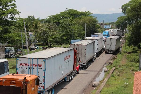El transporte incide en la actividad económica del país.