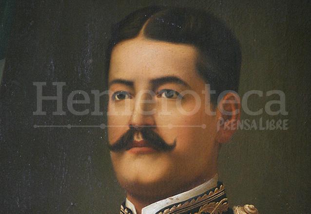 Retrato del presidente Reina Barrios. (Foto: Hemeroteca PL)