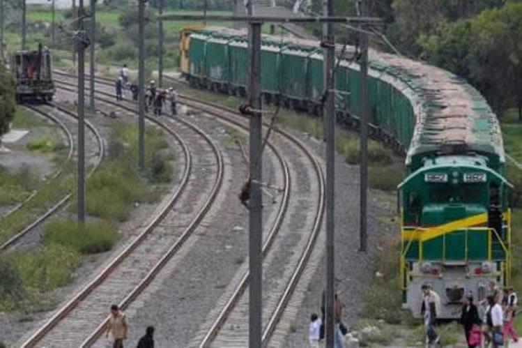 El tren facilitaría el ingreso y salida de la carga de Guatemala a Estados Unidos. (Foto Prensa Libre: elfinanciero.com.mx)