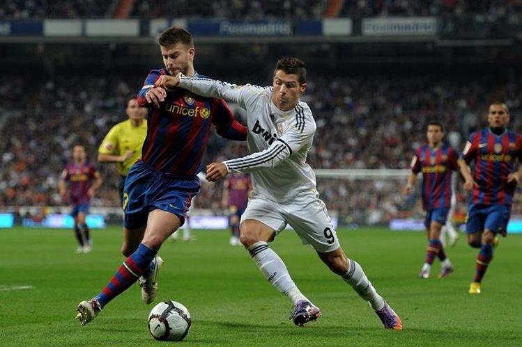 La expectativa del Clásico español es cada vez mayor entre los fanáticos del futbol. (Foto Prensa Libre: Hemeroteca PL)