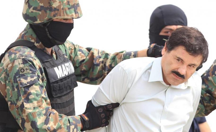 """""""El Chapo"""" Guzmán fue recapturado el 22 de febrero del 2014. (Foto Prensa Libre: Hemeroteca PL)."""