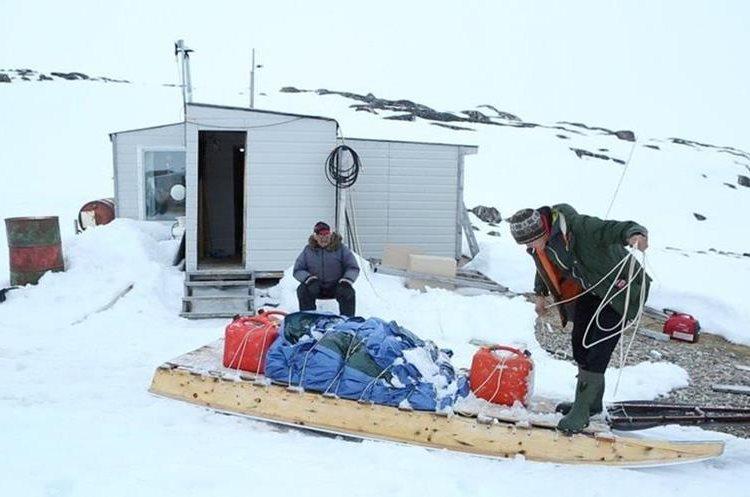 La nieve hace parte central del modo de vida de los inuit. QAJAAQ ELLSWORTH