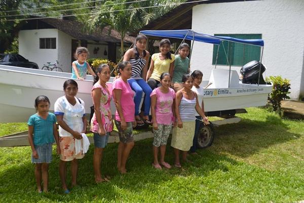"""<p>Grupo de mujeres beneficadas. (Foto Prensa Libre: Julio Vargas)<br _mce_bogus=""""1""""></p>"""