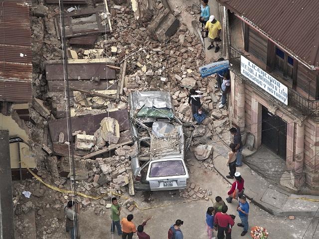 San Marcos  fue golpeado por dos terremotos, en el  2012 y el 2014, que  frenaron el desarrollo urbano. La reconstrucción aún no concluye.