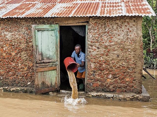 En Haiti el huracán también dejó estragos. Irma dejó a varias islas del caribe devastadas.