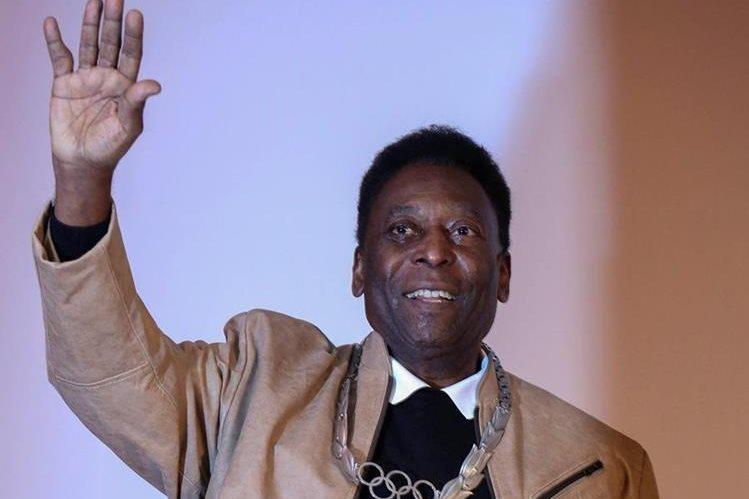 Pelé ya ha grabado otras canciones anteriormente junto a reconocidos artistas. (Foto Prensa Libre: EFE).