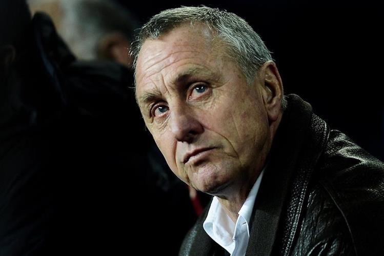 La noticia de Johan Cruyff sobre su cáncer de pulmón ha conmocionado al mundo del futbol y el deporte mundial. (Foto Prensa Libre: Hemeroteca PL)