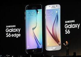 Samsung dio a conocer su nuevo Galaxy S6 en dos modelos en Barcelona, España.