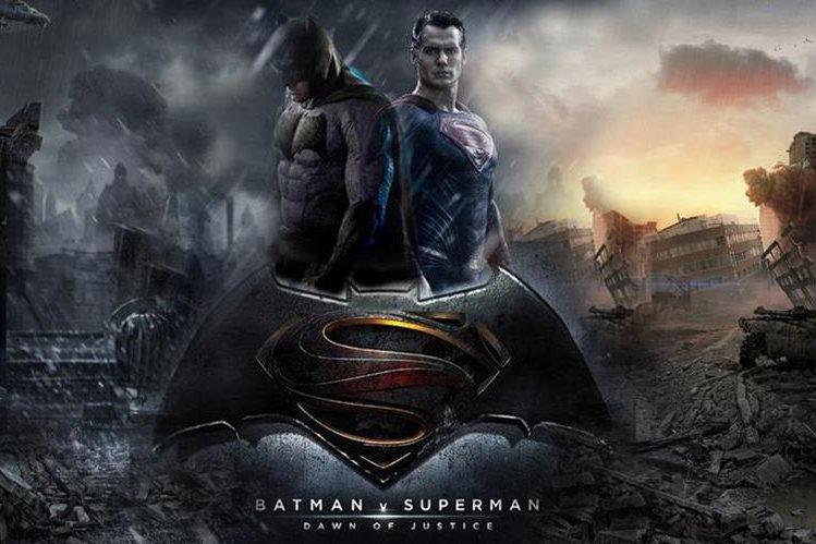 El encuentro entre Batman y Superman es uno de los más esperados en el cine, en el 2016. (Foto Prensa Libre: Hemeroteca PL)