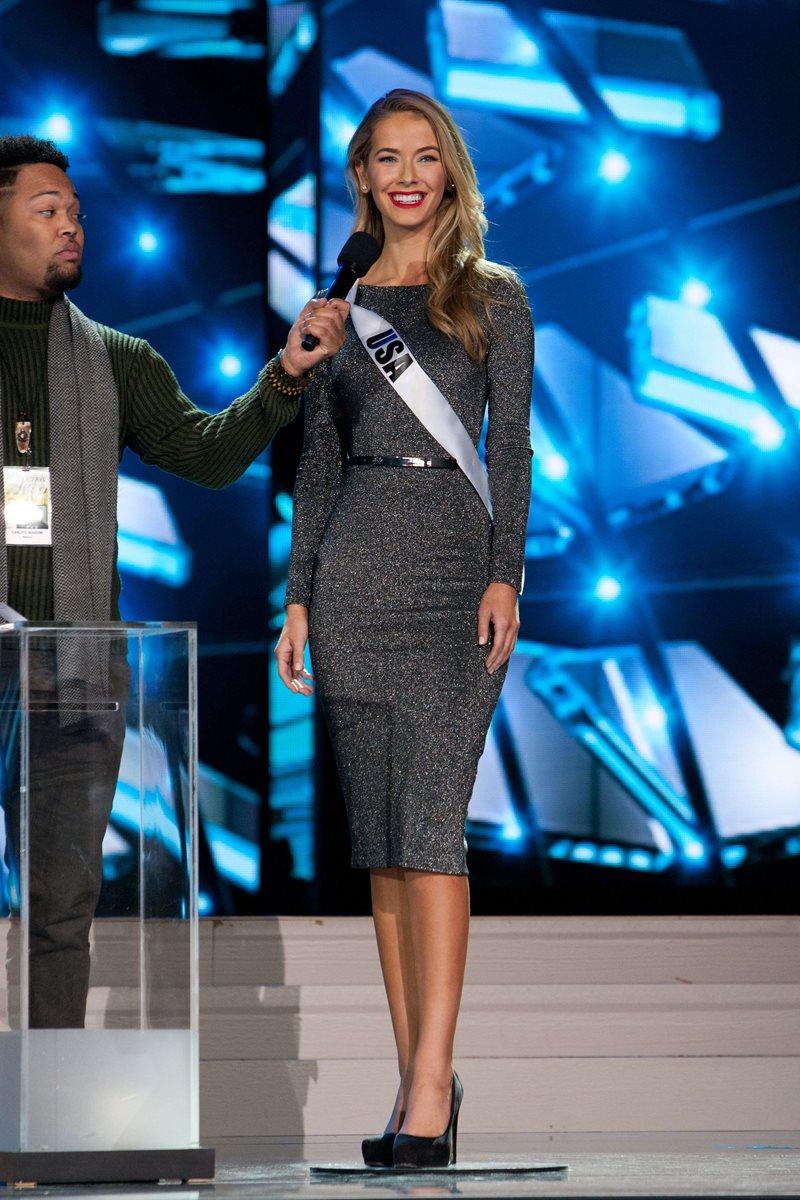 Olivia Jordan es Miss USA. (Foto Prensa Libre, EFE)