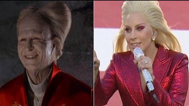 El atuendo de Gaga fue criticado por los internautas que no tardaron en hacer varios memes. (Foto Prensa Libre: Hemeroteca PL)