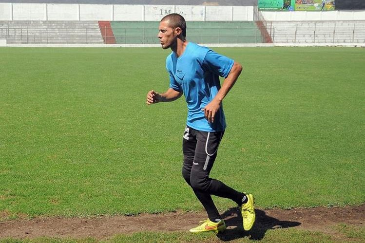 José Rodríguez podría ser titular contra Malacateco. (Foto Prensa Libre: Carlos Vicente)
