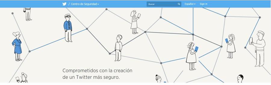 El Centro de Seguridad de Twitter, ofrece consejos y herramientas para mantener las cuentas seguras tanto para adolescentes, padres de familia y educadores. (Foto Prensa Libre: Tomada de Twitter).