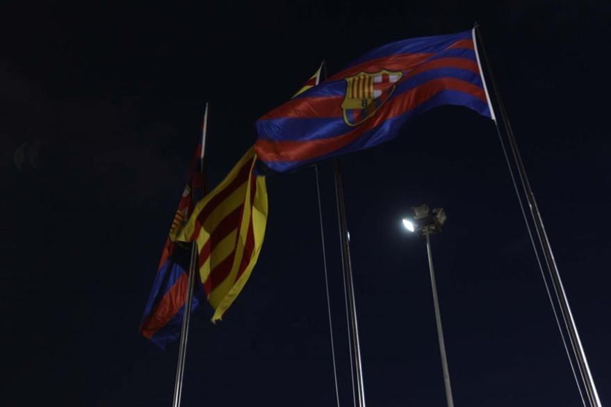 Complejo Deportivo del Barcelona, donde el miercoles el equipo azulgrana enfrentera al Arsenal por la Liga de Campeones. (Foto Prensa Libre: Fernando Lopez)