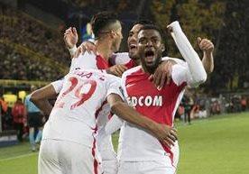 Los mejores imágenes de la victoria del Mónaco contra el Borussia.