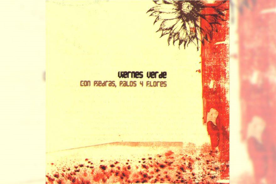 Portada del álbum Con piedras, palos y flores.