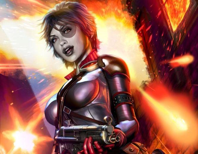 El personaje Domino fue creado por Fabian Nicieza y Rob Liefeld. (Foto Prensa: Marvel)
